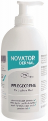 NOVATOP DERMAL Pflegecreme (5% Urea) (500 ml)